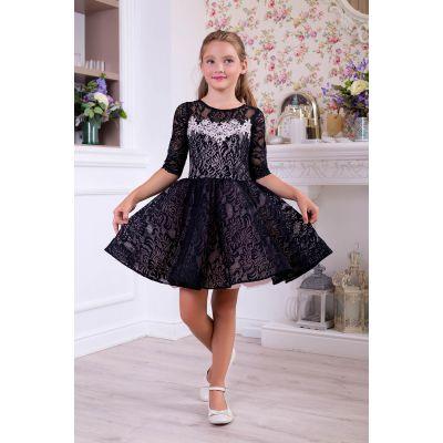 Нарядное платье для девочки 10752
