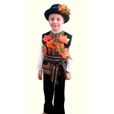 Каранвальный костюм для мальчика Месяц Октябрь (Жовтень)