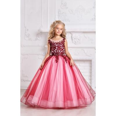 Нарядное бальное платье для девочки 11722