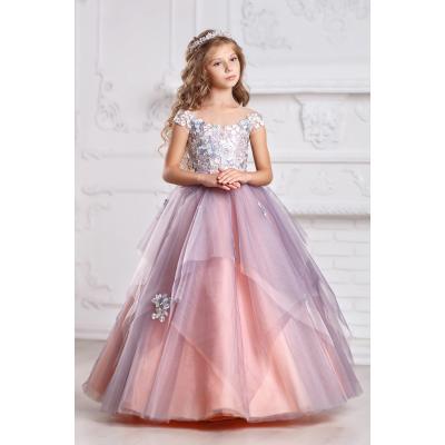 Нарядное бальное платье для девочки 11719