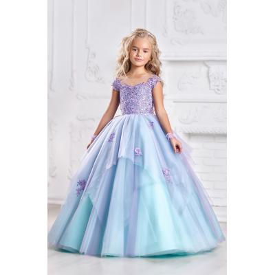 Нарядное бальное платье для девочки 11720