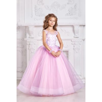 Нарядное бальное платье для девочки 11721