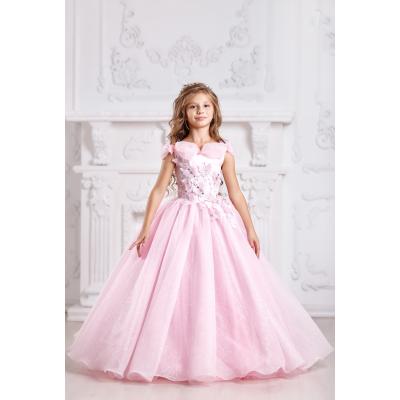 Нарядное бальное платье для девочки 11708