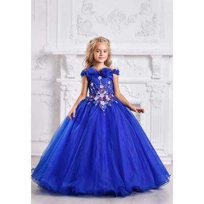 Нарядное бальное платье для девочки 11707