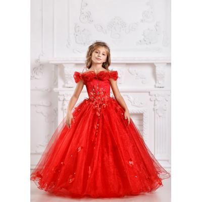 Нарядное бальное платье для девочки 11706