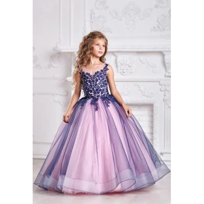 Нарядное бальное платье для девочки 11723