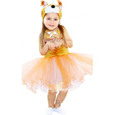 Карнавальный костюм для девочки Белочка 84102