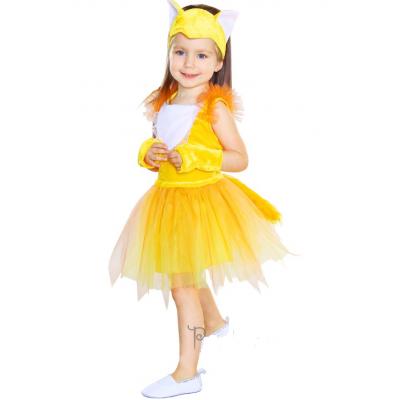 Карнавальный костюм для девочки Лисичка 84101