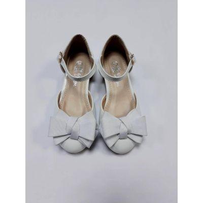 Нарядныем туфли для девочки белые Doremi 139-104