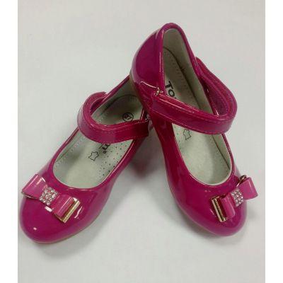 Туфли лакированые для девочки 81-55 малиновый