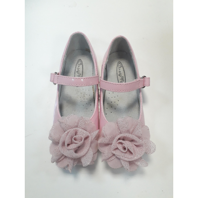 Туфли для девочки коралловый 218-330