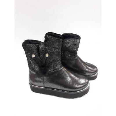 Ботинки для девоки черные 099