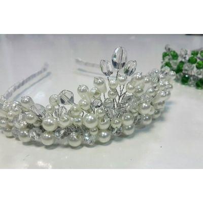 Корона для девочки Серебренное сияние ТМ Sonechko
