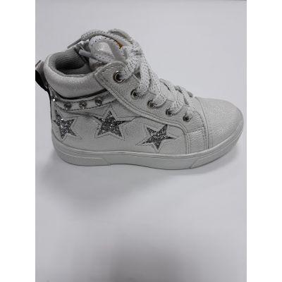 Ботинки для девочки  белые Р-281