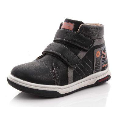 Ботинки черные 7356