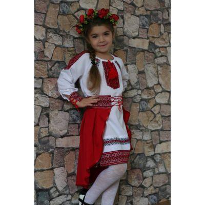 """Национальный Украинский костюм для девочки """" Украиночка"""". Сварга"""