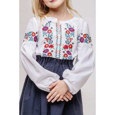 Блуза - вышиванка для девочки Ясочка Сварга
