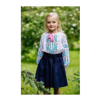 Блуза - вышиванка для девочки Подоляночка Сварга