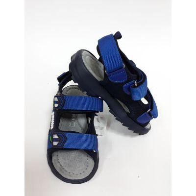 Сандали для мальчика голубые АХ22