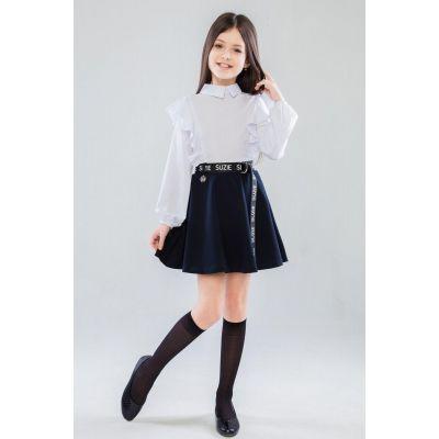Блуза школьная для девочки Рената 52909 белая
