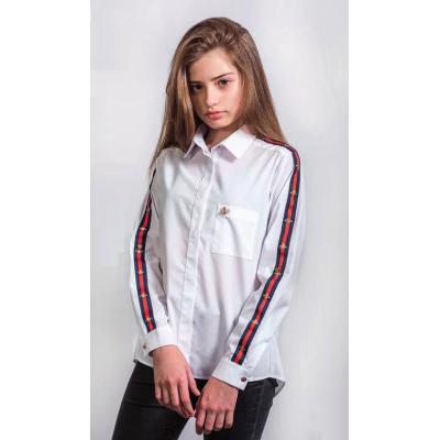 Блуза школьная для девочки 187 ТМ Малена