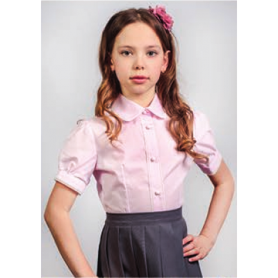Блуза школьная для девочки 117р ТМ Малена