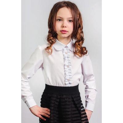 Блуза школьная для девочки 161 ТМ Малена