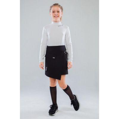 Юбка школьная для девочки Владлена 75903 черная