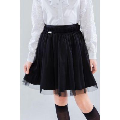 Юбка школьная для девочки Прю 72903 черная