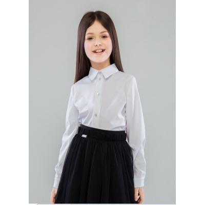 Блуза школьная для девочки белая Дарья 48909