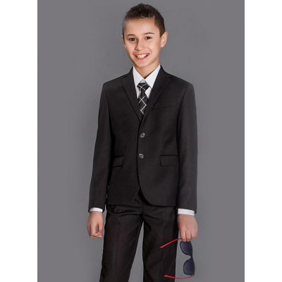Пиджак школьный для мальчика Карат