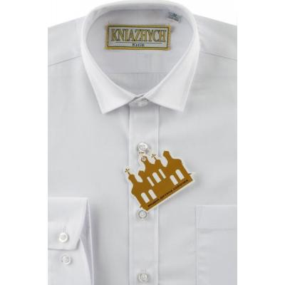 Рубашка для мальчика хлопок2000  белая Княжич