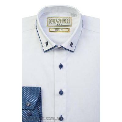 Рубашка для мальчика Vivat/K154sl белая