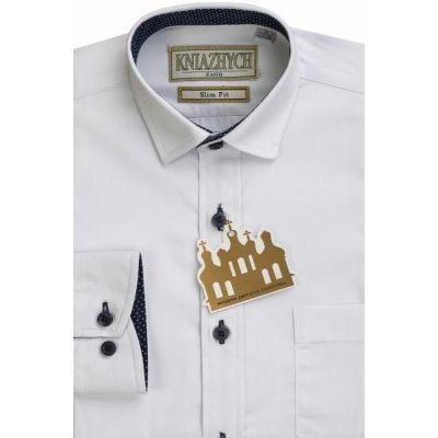 Рубашка для мальчика 2000/К1024sl белая