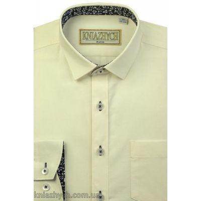 Рубашка для мальчика молоко Whisper896 Княжич
