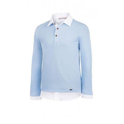 Рубашка-обманка для мальчика F7-A