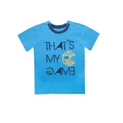 Футболка для мальчика 11588 голубая  GABBI,  Украина