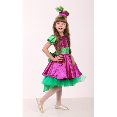 Карнавальный костюм для девочки Свекла стиль