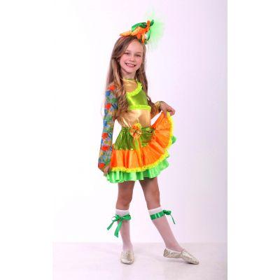 Карнавальный костю для девочки Морковка стиль