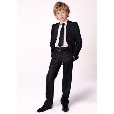 Костюм - тройка школьный для мальчика 70526 Deloras черный