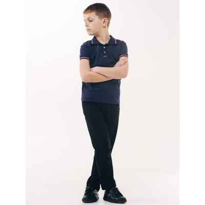 Брюки школьные для мальчика трикотаж 115377 Smil
