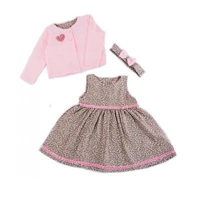 Комплект (сарафан и кофта) для девочки 429-421