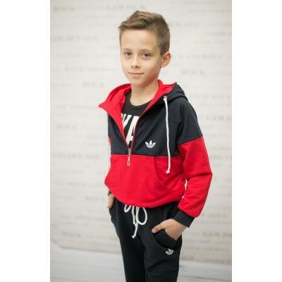 Спортивный костюм для мальчика Berry Kids красный