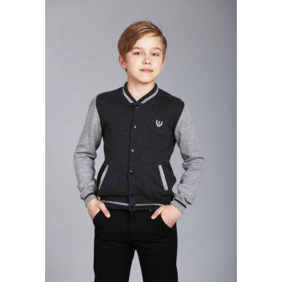 Кардиган для мальчика серый 17084 ТМ A-yugi
