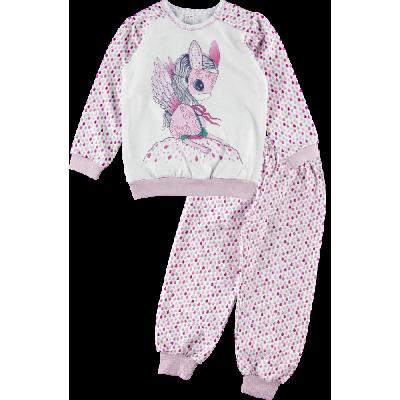 Пижама утепленная для девочки 3АК170ф ТМ Ляля