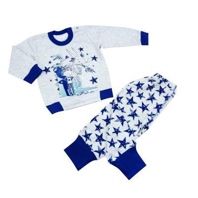 Пижама утепленная для мальчика 109-3 6-16  ТМ Ля-Ля
