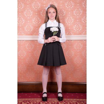 Сарафан школьный для девочки черный Belle 18№2 ТМ Новая форма