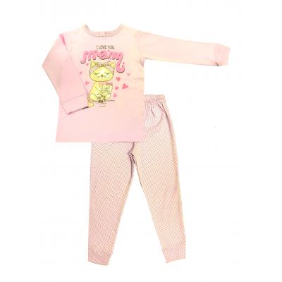 Пижама для девочки 394-01 ТМ Lotex