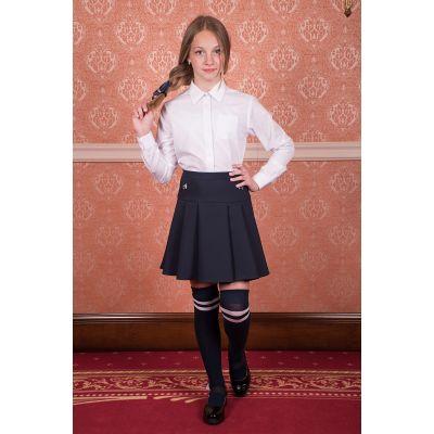 Юбка школьная для девочки черная Belle18№2 ТМ Новая форма