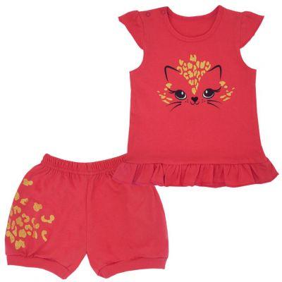 Комплект летний для девочки (шорты и майка) 11687